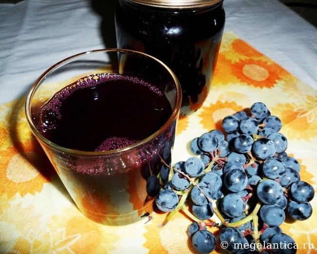 Рецепт кофе с корицей и виноградным соком