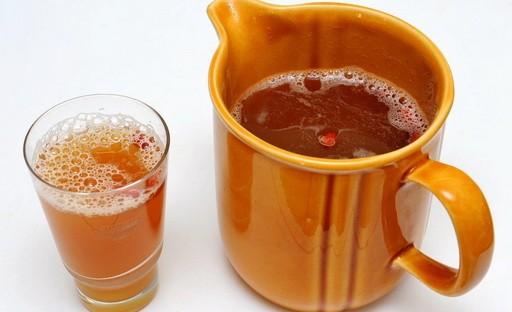 Рецепт Кофе с виноградным соком