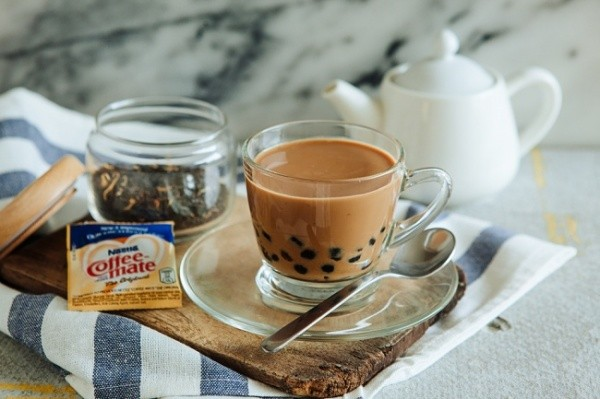 Шоколадно-кофейное молоко