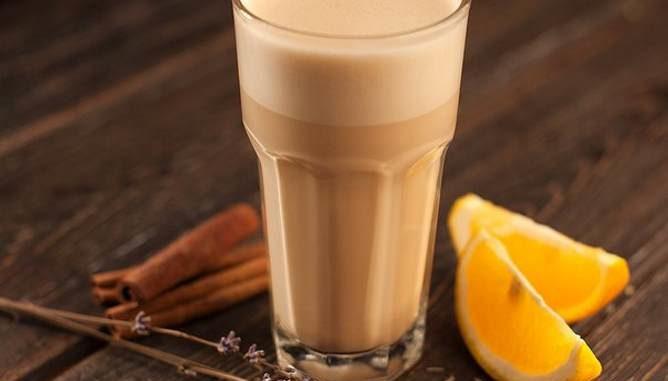 Совершенно зимний апельсиновый кофе