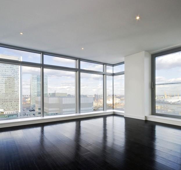 Алюминиевые окна в квартире