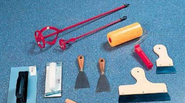Инструменты для жидких обоев