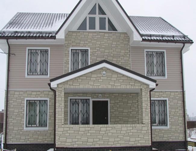 Панели «Nailite» для отделки фасада