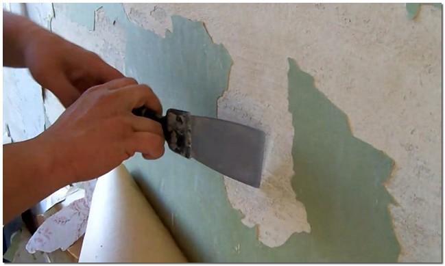 Подготовка поверхностей со старой краской