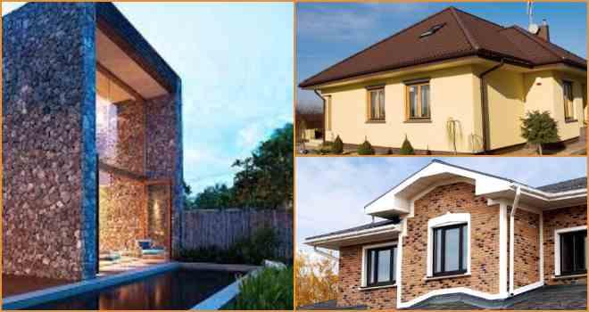 Принципы выбора отделочных фасадных материалов