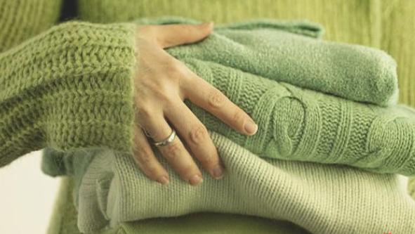 Приготовление шерсти к перевязыванию