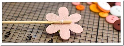 Как сделать цветы из фетра