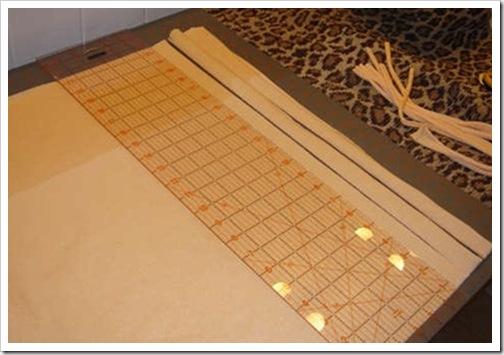 Как сделать коврик для ванной комнаты